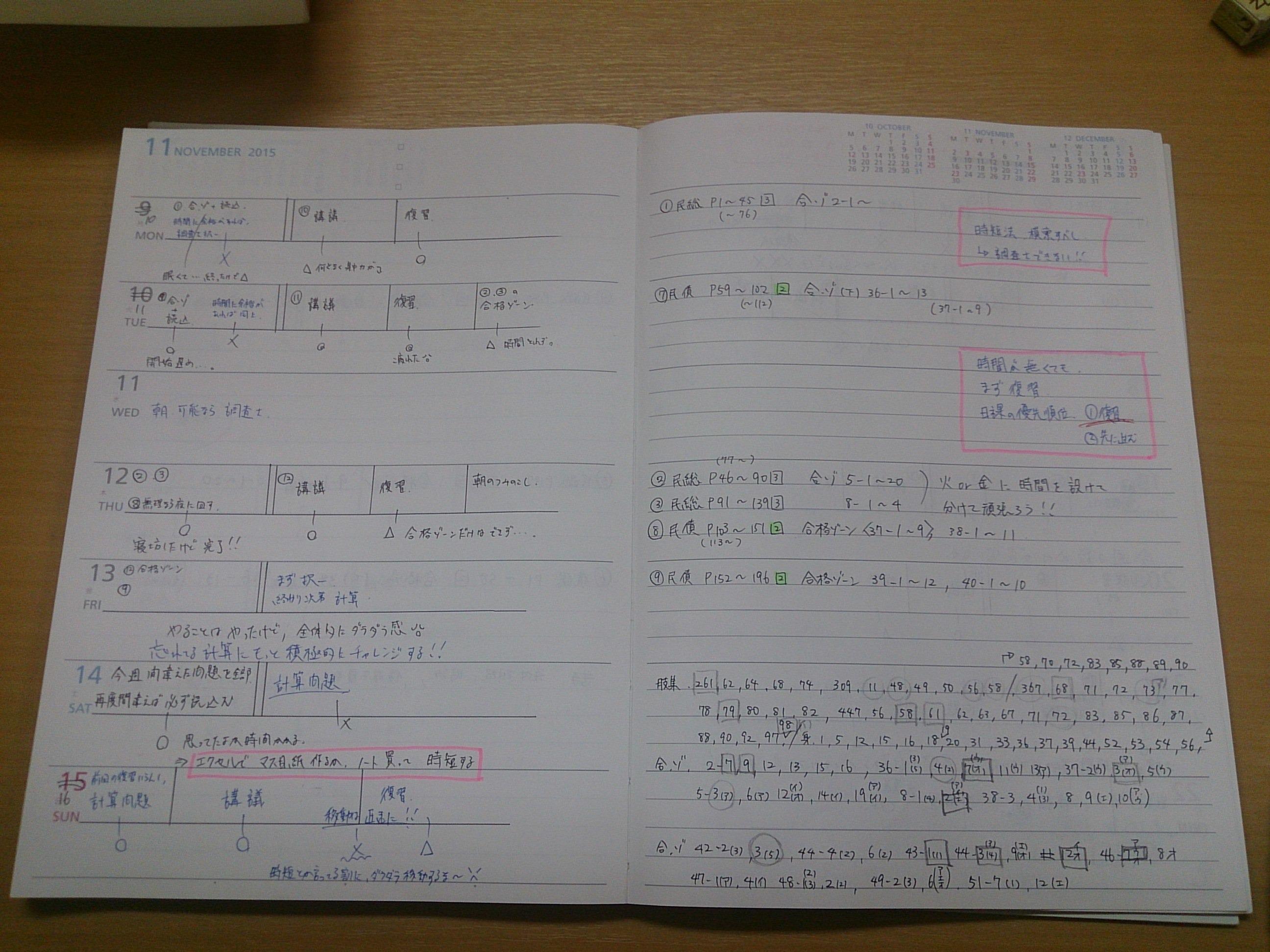 勉強ノート例3