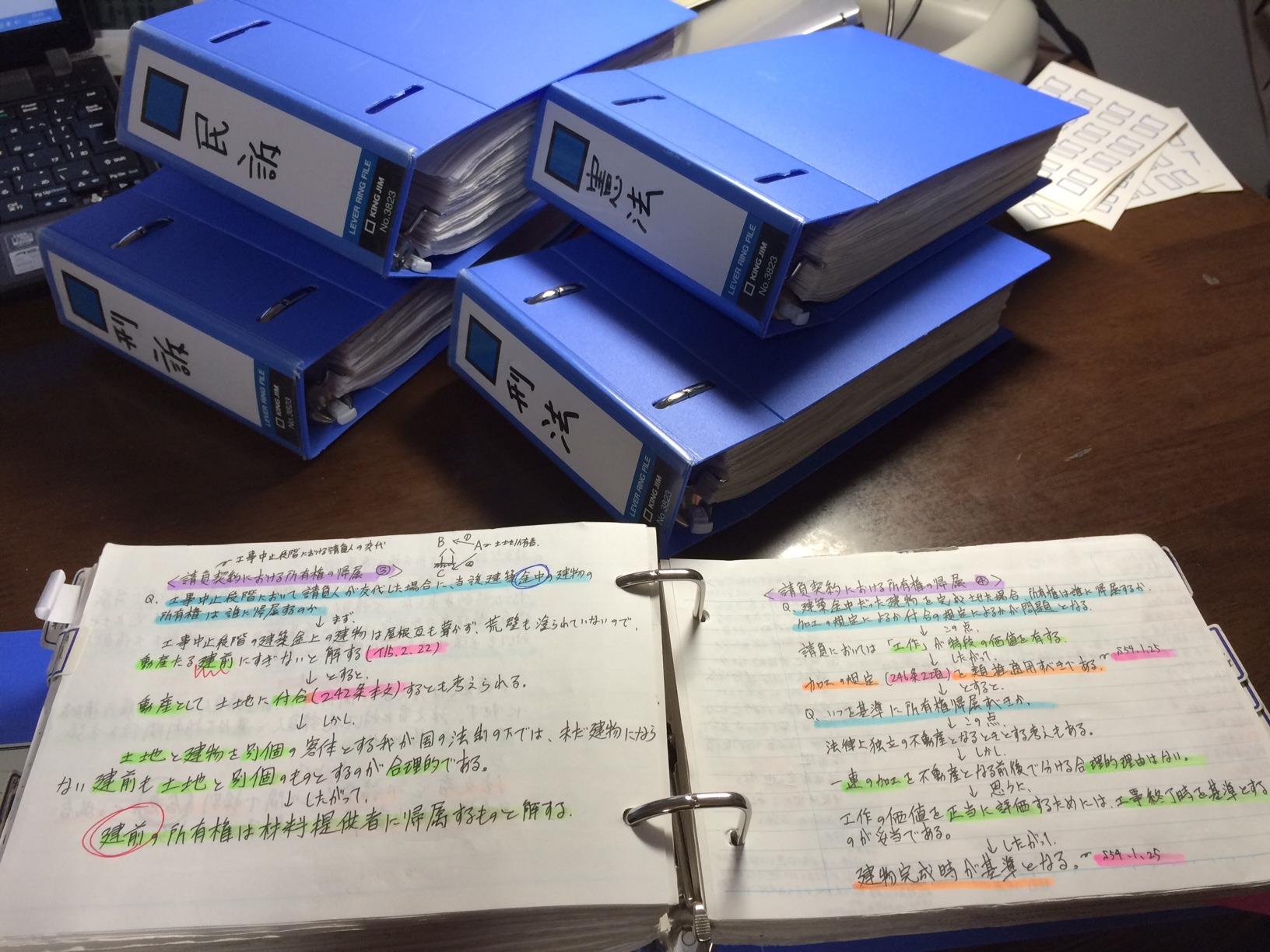 勉強ノート例4